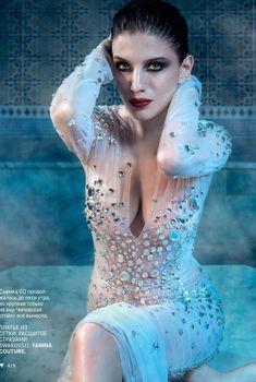Секси Анна Чиповская в журнале GQ, 2015