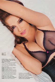 Анфиса Чехова засветила грудь в журнале Playboy, 2008