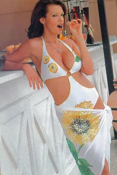 Арина Махова в купальниках для журнала «ТВ-Парк», 2007