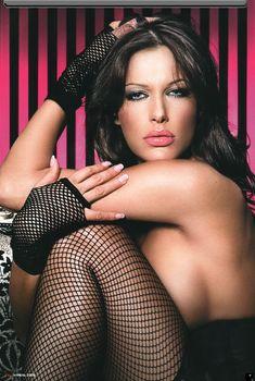 Арина Махова в эротическом белье журнале XXL, 2008
