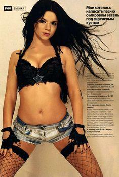 Эротичная Бьянка в журнале FHM, 2006