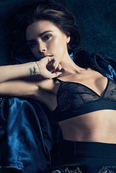 Сексуальная Виктория Бекхэм в журнале Vanity Fair, 2014