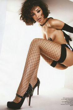 Виктория Дайнеко в эротическом белье для Playboy, 2009