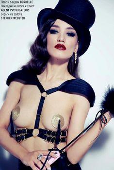 Обнаженная Виктория Дайнеко в журнале Playboy, 2013