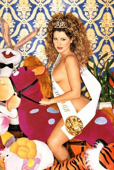 Ева Польна разделась в журнале Playboy, 2003