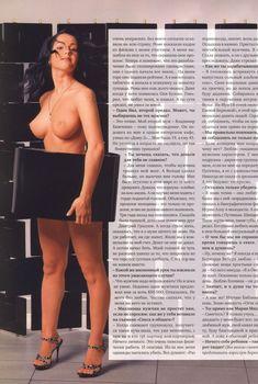 Елена Беркова разделась в журнале SIM, 2007