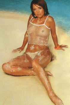 Жанна Фриске засветила сиськи в журнале Maxim, 2004