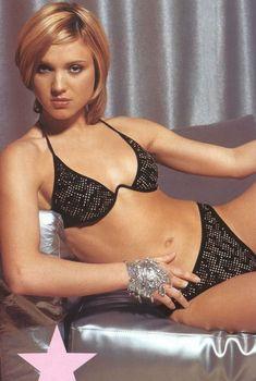 Ирина Тонева в белье для журнала «Максим», 2003