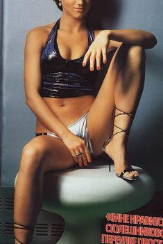 Эротичная Ирина Тонева в журнале FHM, 2004