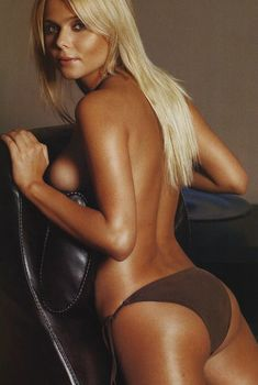 Ксения Новикова без лифчика в журнале Maxim, 2006