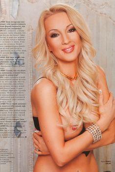 Обнаженная Лера Кудрявцева в журнале Playboy, 2008