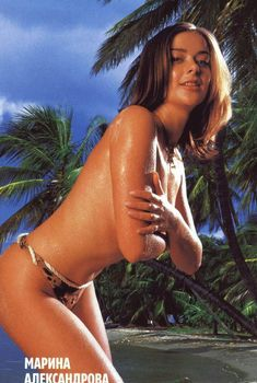 Секси Марина Александрова в журнале Maxim, 2003