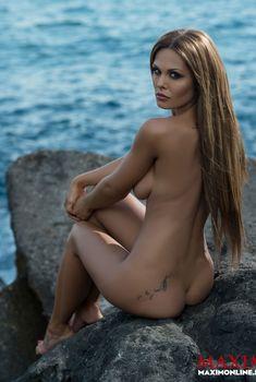 Мария Горбань без одежды в журнале «Максим», 2013