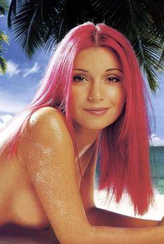 Ольга Орлова в купальнике для журнала Maxim, 2003