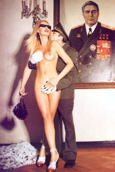 Ольга Родионова разделась в журнале Playboy, 2003