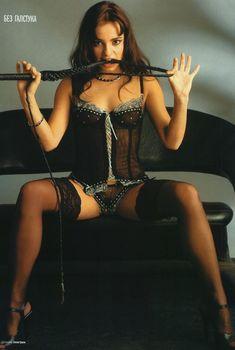 Светлана Светикова в эротическом белье для «Пингвин», 2003