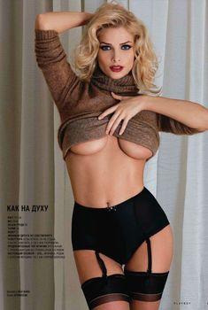 Обнаженная Татьяна Котова в журнале Playboy, 2011