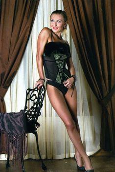 Секси Татьяна Овсиенко в журнале Penthouse, 2005