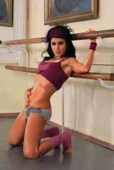 Эротическая фотосессия Тина Канделаки в журнале Maxim, 2006