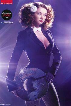 Секси Юлия Волкова в журнале GQ, 2006