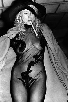 Обнажённая Елена Кондулайнен в прозрачном трико, 1992