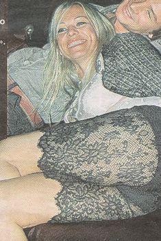 Ирина Салтыкова в откровенном наряде