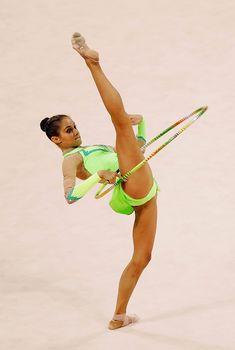 Красивая Ирина Чащина на спортивной сцене