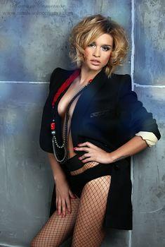 Эротический наряд Ксении Бородиной в фотосессии Натали Солнечной