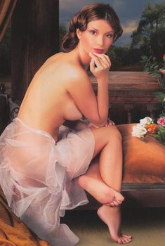 Ольга Орлова обнажилась в журнале «Караван историй», 2006