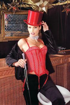 Ольга Родионова в эротическом наряде