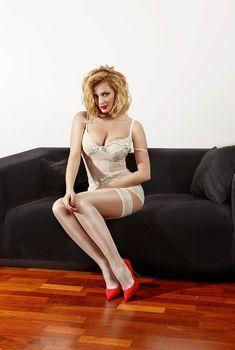 Татьяна Котова в нижнем белье