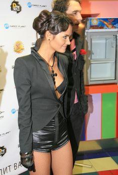 Катя Ли в сексуальном наряде