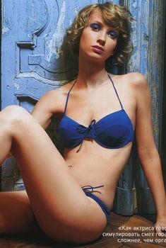 Анастасия Цветаева в нижнем белье для Playboy, Апрель 2006