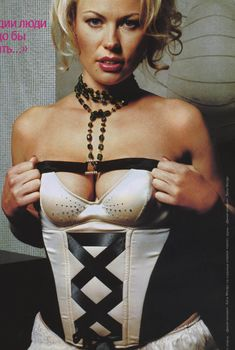 Екатерина Коновалова в эротическом белье для FHM, 2005