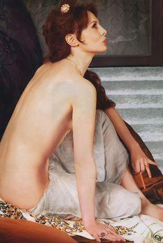 Обнаженная Ольга Погодина в журнале «Караван Историй», Декабрь 2006