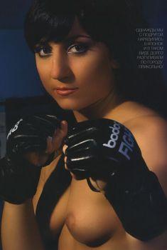 Юлия Березикова обнажилась в журнале «Penthouse», 2008