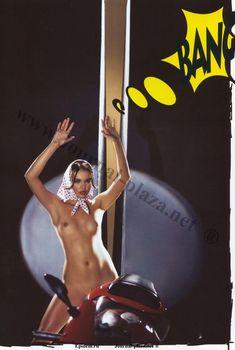 Инесса Тушканова оголила грудь в журнале Playboy, Сентябрь 2008