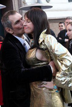 Марина Хлебникова засветила грудь на открытии бутика «Наше золото», 05.11.2010