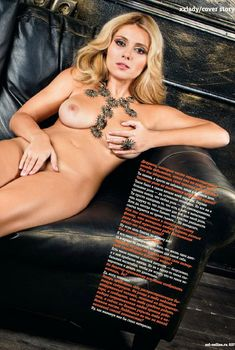 Обнаженная Марина Штода в журнале «XXL», Декабрь 2013
