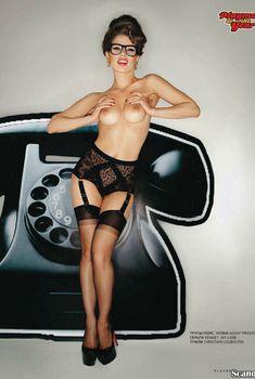 Эротические фото Марии Титовой в журнале «Playboy», Июль 2012