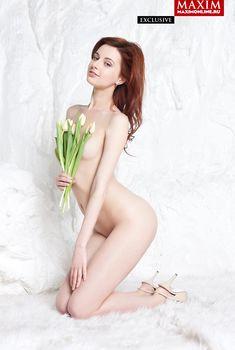 Обнаженная Мария Климова в журнале «MAXIM», Март 2014