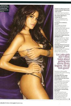 Откровенная фотосессия Софии Вергары для Maxim, Июль 2008