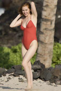 Айла Фишер в купальнике на Гавайях, 2008
