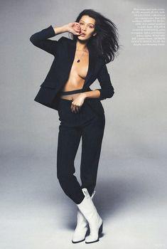 Эро фотосессия Беллы Хадид для Elle, Май 2015