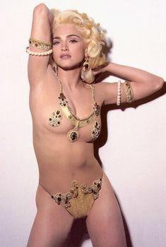 Мадонна в эротическом нижнем белье для журнала Vanity Fair, 1991