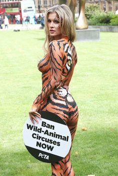 Сексуальная тигрица Джоанна Крупа, Сентябрь 2017