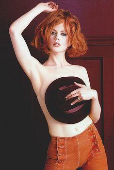 Николь Кидман в сексуальных нарядах на фотографиях от Герба Ритца