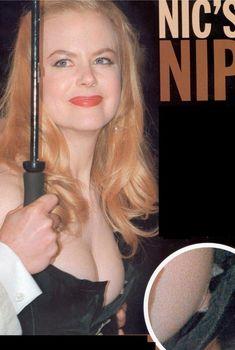 Николь Кидман засветила возбуждающую грудь в шикарном платье