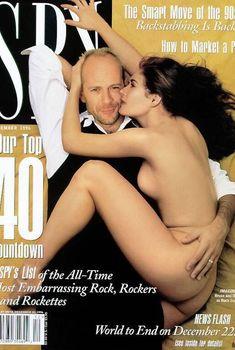 Деми Мур снялась голой для журнала Spy, Декабрь 1996