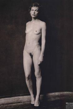 Милла Йовович в обнажённом виде для The Pirelli Calendar, 2012